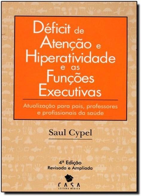 Capa livro Déficit de  Atenção e Hiperatividade