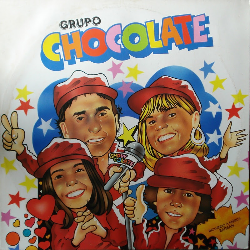 Capa LP Grupo Chocolate